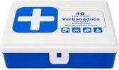 Premium 40-delige EHBO Verband Set - EHBO Kit - Verbandset - Verbandtrommel - First Aid Kit - Verbanddoos Geschikt voor Huis Auto Camping en Boot - Eerste Hulp Doos - EHBO Doos