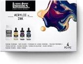 Liquitex Professional Ink! pouring medium set - Deep Colours