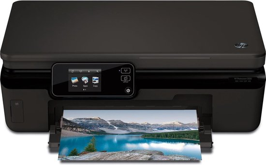 HP Photosmart 5520 e-All-in-One - Multifunction printer - colour - ink-jet - 216 x 297 mm (original) - Legal (216 x 356 mm), A4 (210 x 297 mm) (media) - up to 23 ppm (copying) - up to 11 ppm (printing) - 80 sheets - USB 2.0, Wi-Fi(n)