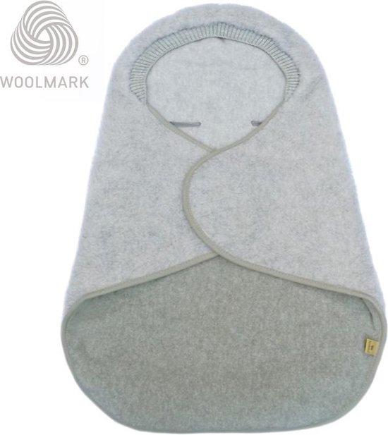 Wikkeldeken voor baby 100% Wol