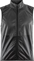 Craft Glow Vest Fietsjack - Heren - Maat L - Black/Zwart