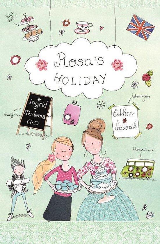 Supergezellige meidenserie 2 - Rosa's holiday - Ingrid Medema |