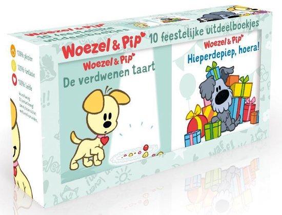 Boek cover Woezel & Pip  -   Uitdeelboekjes van Dromenjager (Hardcover)