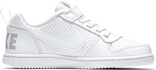Nike Court Borough Low Bpv Jongens Sneakers - White/White - Maat 33