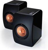 KEF LS50 - Boekenplankspeaker 2 stuks - Zwart (per paar)