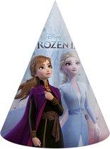 Frozen 2 Feesthoedjes 16cm 6 stuks
