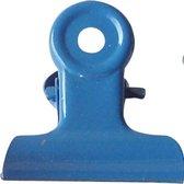 LPC Papierklem Bulldog clip blauw - 51 mm -20 stuks