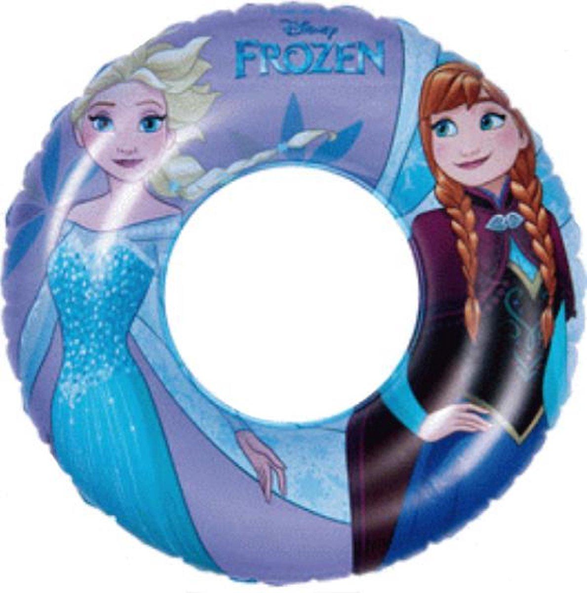 Frozen Zwemband - Ring 51cm - Zwembadspeelgoed - Strand Speelgoed - Anna & Elsa