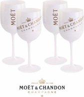 Moët & Chandon Ice Imperial Champagneglazen - 450 ml - 6 glazen + 18 gratis herbruikbare ijsblokjes