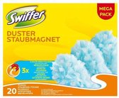 Swiffer Duster Trap & Lock - 20 Stuks - Navul Stofdoekjes