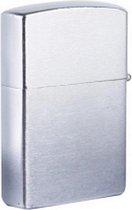 Benzine Aansteker - Zippo Formaat - Windbestendig - Zilver