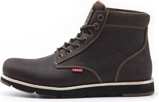 Levi Sneakers - Maat 43 - Mannen - donker bruin