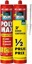 Bison polymax express - wit duoverpakking