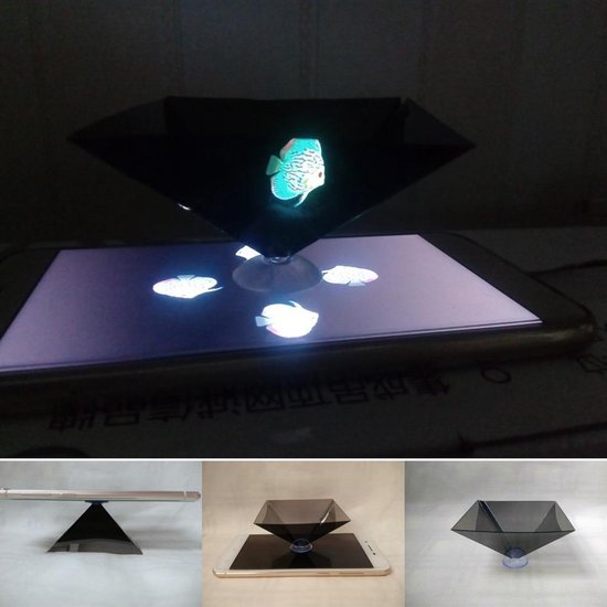 Holographische Pyramide Mobiel - 3D - Virtual Reality