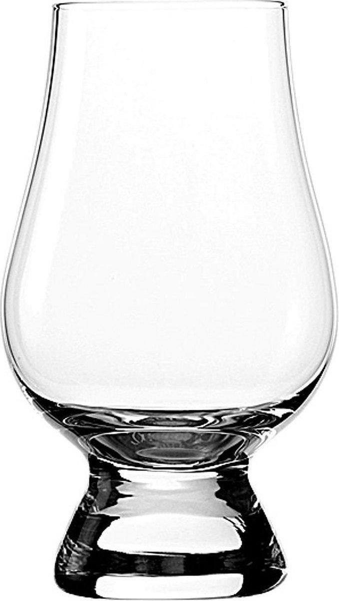 Glencairn Whisky Glazen - 6 stuks + 6 pipetten - Kristal - 190ml Combinatiepakket