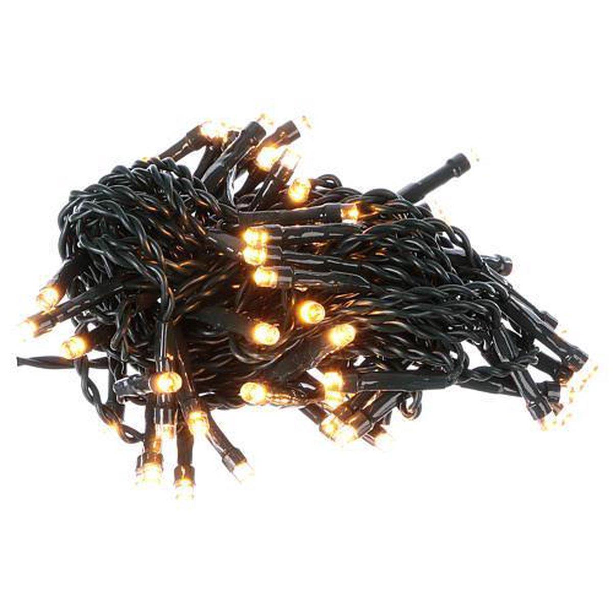 LED kerstverlichting - 200 LED's - 25m - warm wit - voor binnen