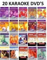 Karaoke - Pakket met 20 Karaoke DVD's