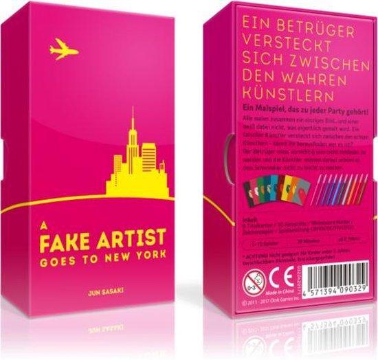 Afbeelding van het spel A Fake Artist Goes to New York