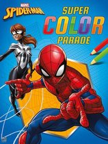 Marvel Kleurboek Spider-man Super Color Parade