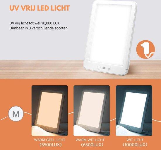 Bol Com Daglichtlamp Energielamp Lichttherapie 10000 Lux Vitamine D