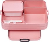 Mepal Bento Take a Break Lunchbox - 1.5 L - Nordic Pink