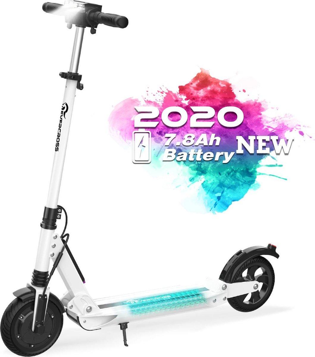 "Evercross Opvouwbare Elektrische Step E-scooter   7.8Ah   250W   8"" - Wit"