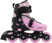 SFR Plasma Inlineskates - Maat 33-37 - Meisjes - roze/zwart