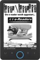 Autovision AV64L eReader 8GB - Achtergrondverlicht
