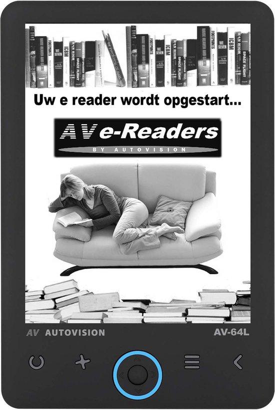 Autovision AV64 Lumiread - ereaders - ereader met verlichting  -  ereader met hoes