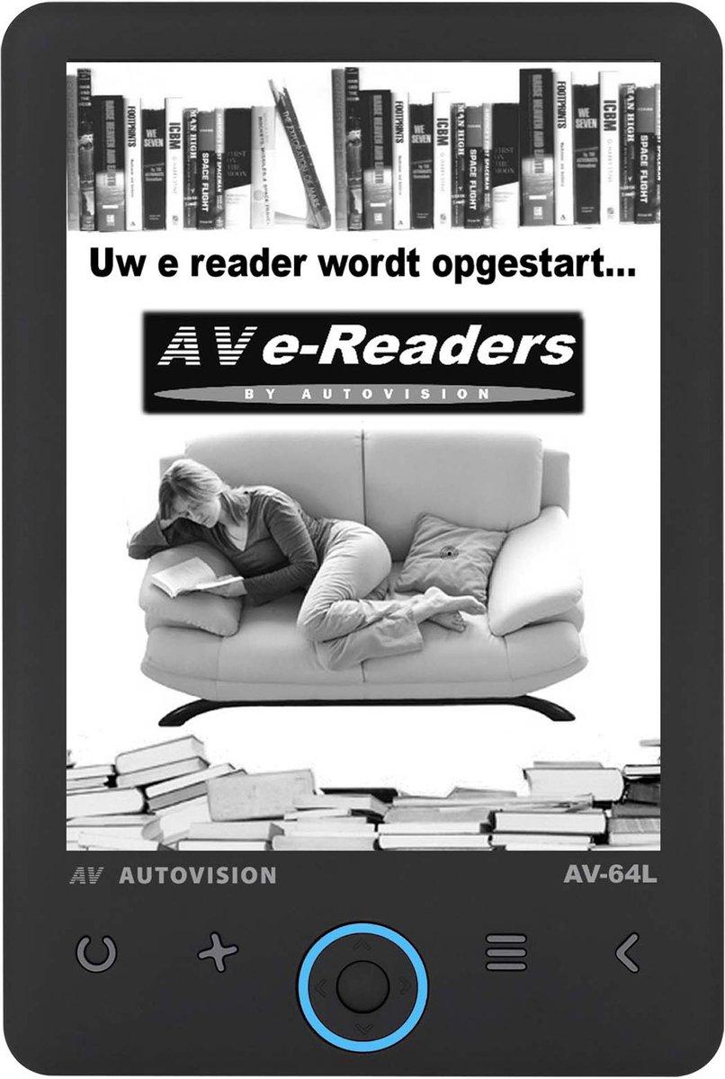 AV64L e Reader met achtergrondverlichting - 8GB - 6 inch Carta scherm