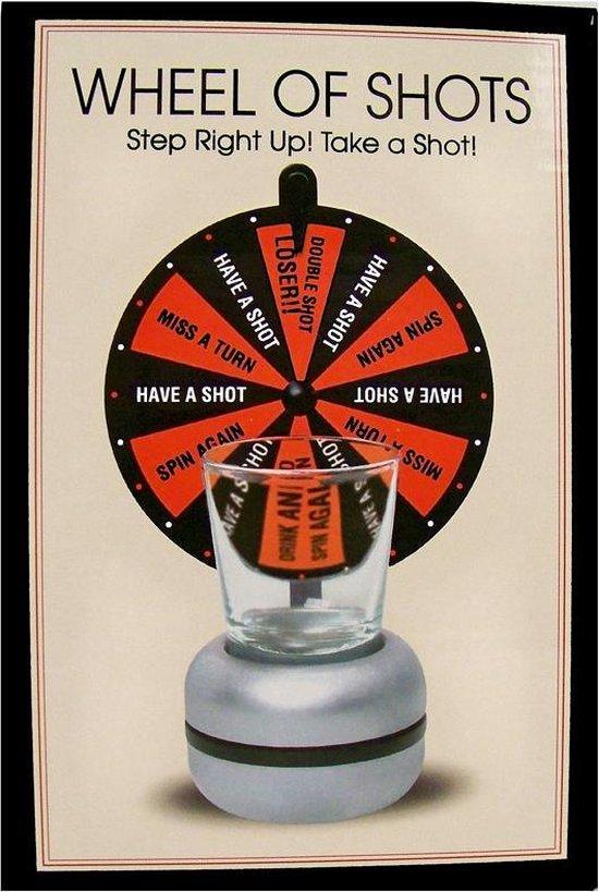 Afbeelding van het spel Drankspel / Drinkspel Wheel of Shots