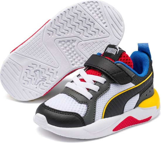 bol.com | PUMA X Ray AC Inf Kinderen Sneakers - Puma White ...
