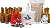 Brew Monkey Bierbrouwpakket - Premium IPA bier - Zelf bier brouwen - Bier brouwen startpakket - Vaderdagcadeau