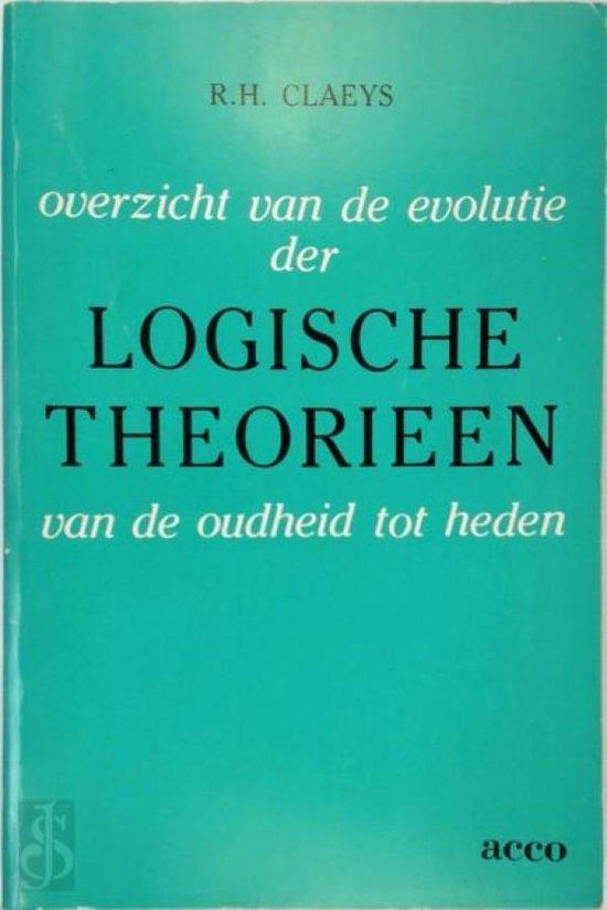 Overzicht evolutie der logische theorieen - Claeys R.H. |