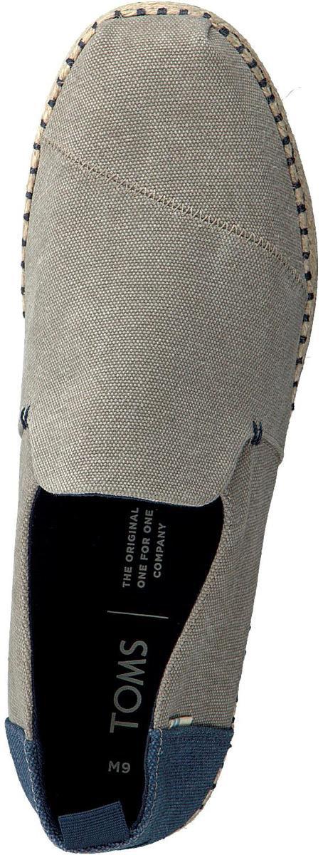 Toms Deconstructed Alpargata Rope Heren Espadrille - Grey - Maat 43.5 Espadrilles