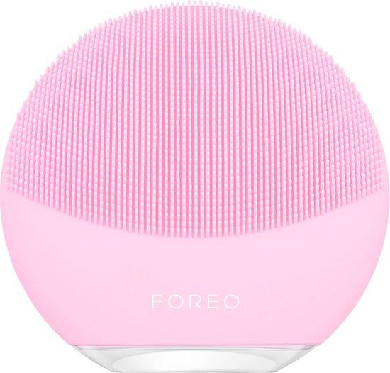 FOREO LUNA mini 3 Elektrische Gezichtsreiniger voor Alle Huidtypen, Pearl Pink
