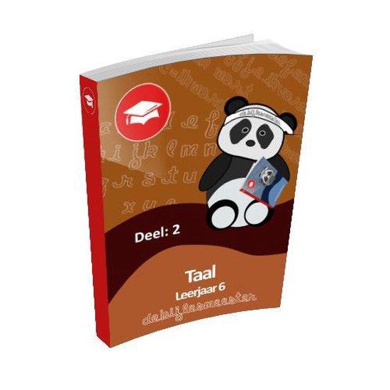 Oefenboek Leerjaar 6 Taal - Deel 2 - De Bijlesmeester  