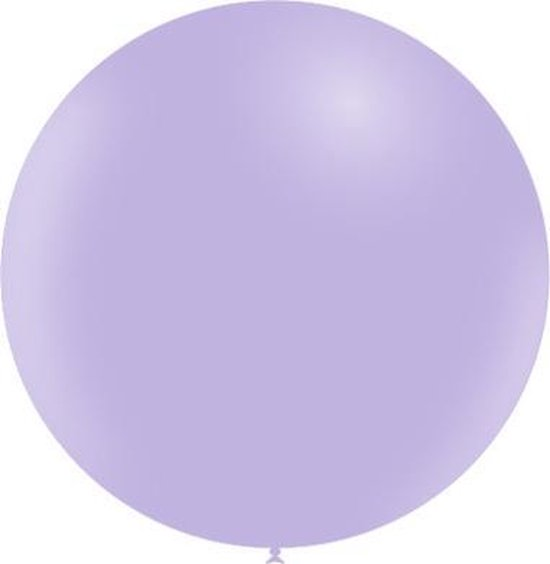 Lila Reuze Ballon Pastel 60cm