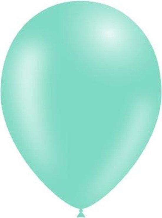 Lichtgroene Ballonnen 25cm 10st
