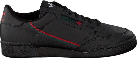 Adidas Heren Lage sneakers Continental 80 Men - Zwart - Maat 41⅓