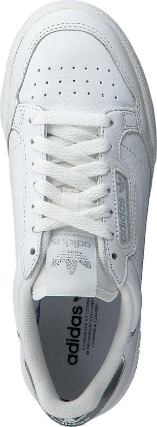 adidas Continental 80 W Sneakers - Cloud White/Cloud White/Silver Met. -  Maat 40 2/3