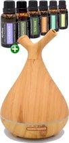 Aquair CHIARO DUO Aroma diffuser   incl. 6x10ml All-Pura essentiele olie!