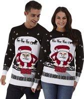 """Foute Kersttrui Dames & Heren - Christmas Sweater """"Kerstman Past Niet"""" - Kerst trui Mannen & Vrouwen Maat XL"""
