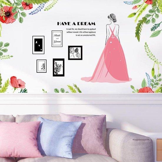 Bol Com Moderne Muursticker Decoratie Voor Kinderkamer Woonkamer En Slaapkamer Fotolijst