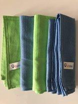 IZICLEAN Microvezel doek set van 4 stuks