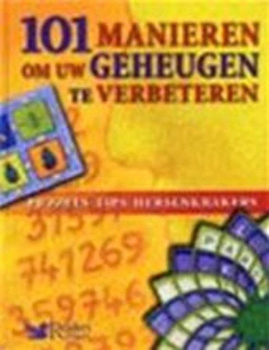 Cover van het boek '101 manieren om uw geheugen te verbetere'