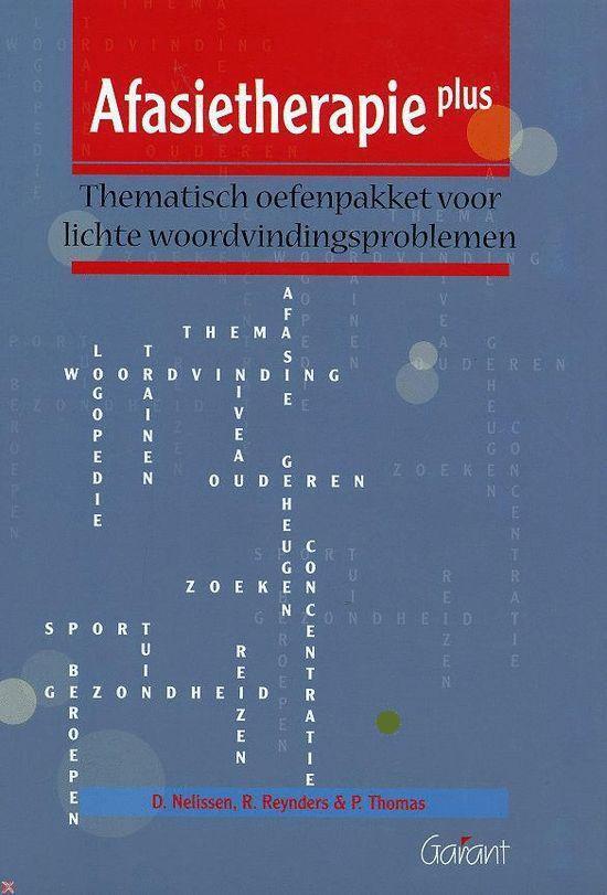 Afasietherapieplus - D. Nelissen pdf epub
