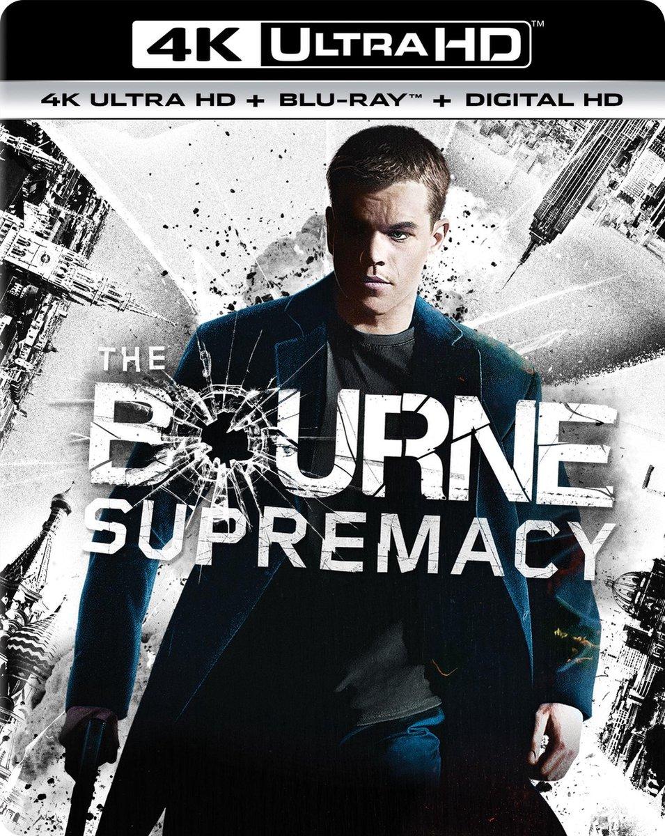 Bourne Supremacy (4K Ultra HD Blu-ray)-