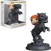 Funko Pop! Harry Potter Ron Riding Chess Piece Movie Moment - #82 Verzamelfiguur