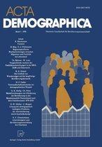 ACTA Demographica